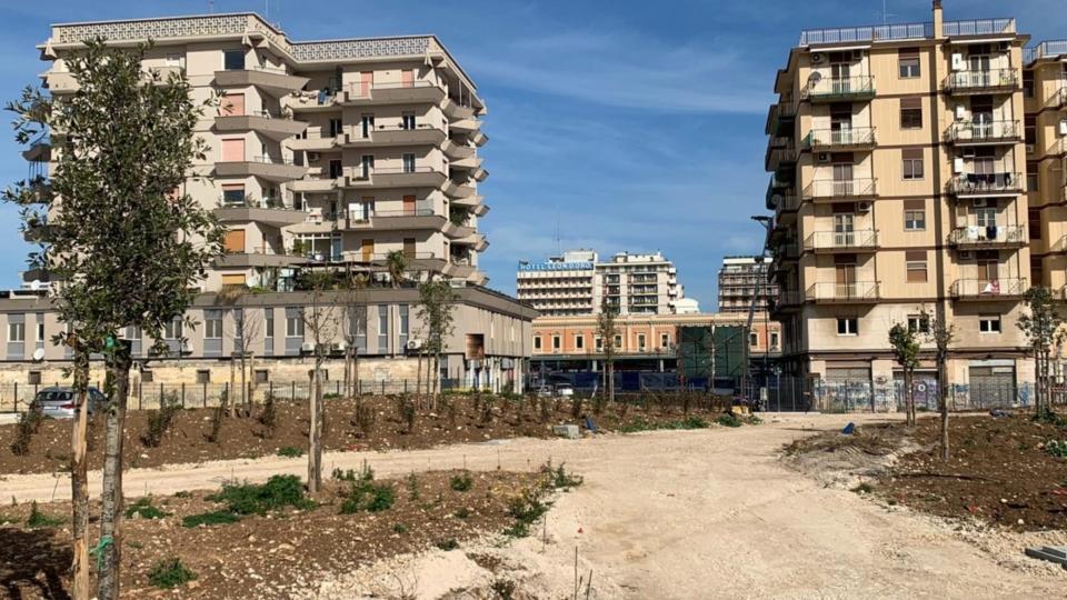 04-03-20 sopralluogo parco Rossani commissione Urbanistica