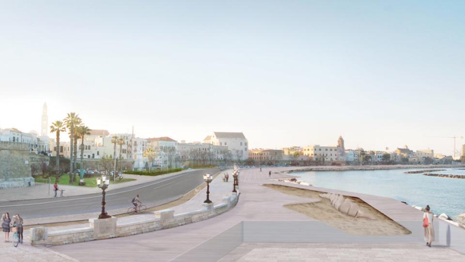 waterfront Bari Vecchia (come sarà)