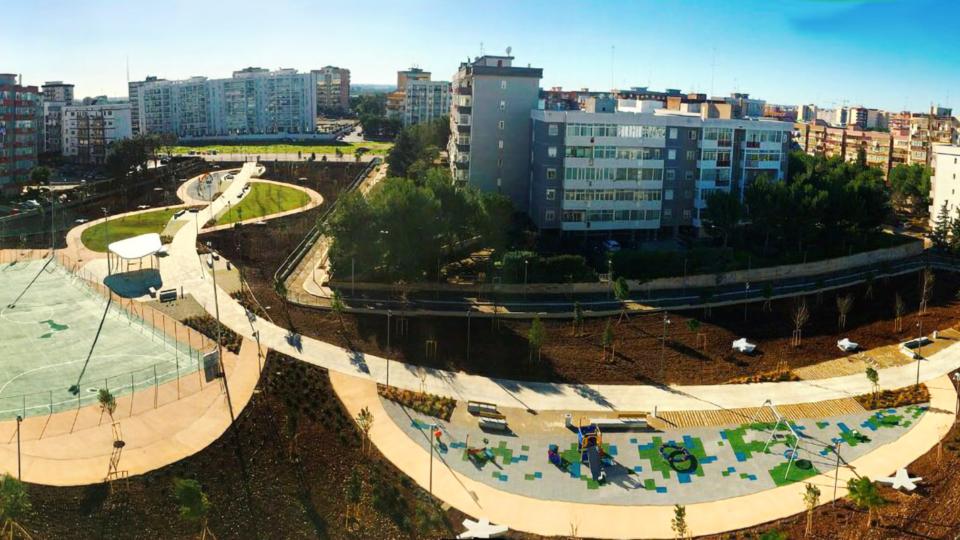 Parco Troisi (vista dall'alto)