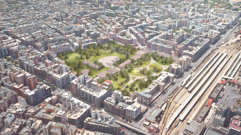Parco e Polo delle Arti (vista dall'alto)