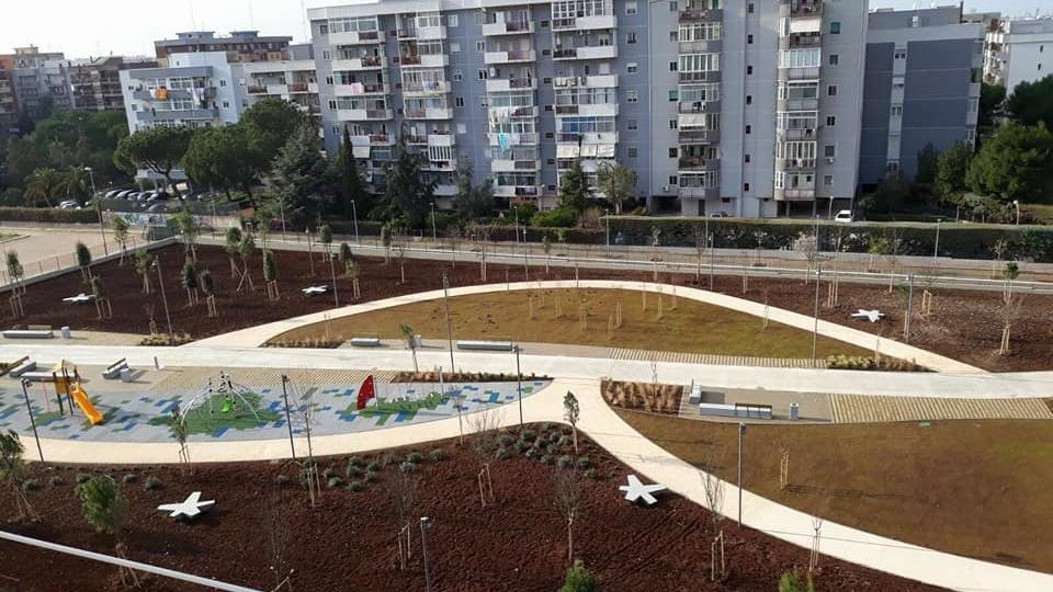 Parco Troisi (vista dall'alto 2)