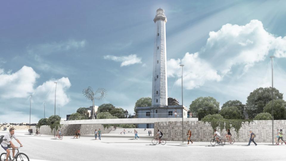 Faro San Cataldo_progetto_