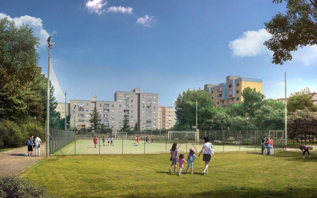 Parco giochi di Green Mission (playground)
