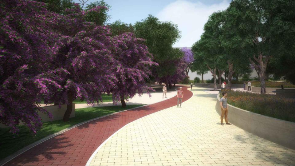 Parco ex Gasometro Bari (come sarà)