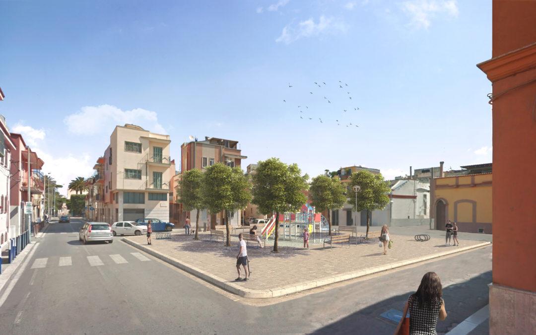 Pedonalizzazione di piazza Diaz di Ceglie del Campo