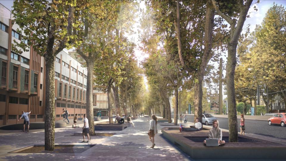 Corso Mazzini (come sarà)
