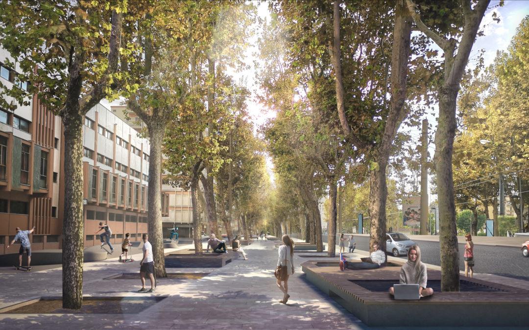 Riqualificazione di corso Mazzini, via Fieramosca, piazza de Nicola
