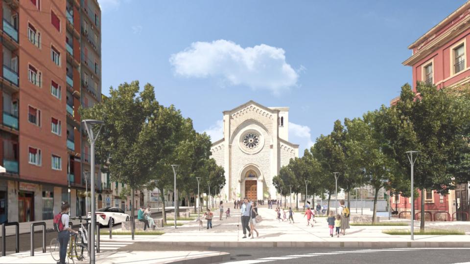 Piazza del Redentore di Bari (come sarà)