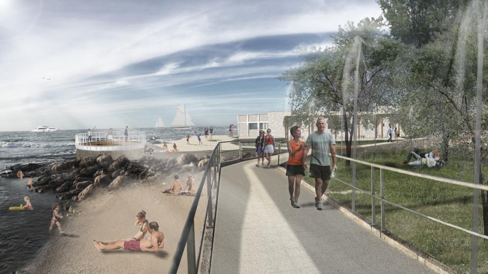 Spiaggia Fiera del Levante (come sarà)