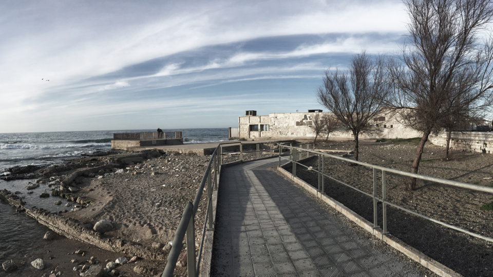 Spiaggia Fiera del Levante (com'è)