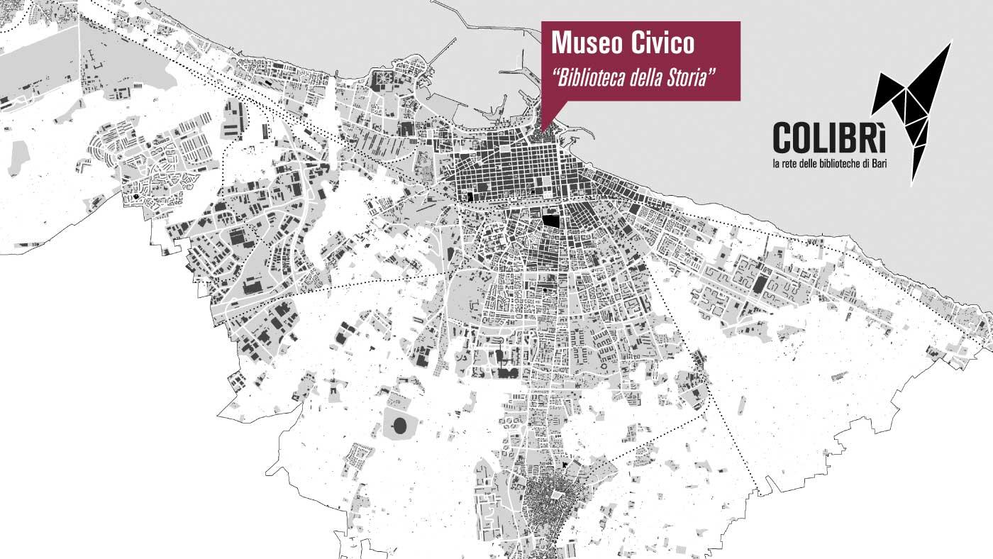 Carbonara Di Bari Storia biblioteca del museo civico (progetto colibrÌ) - bari