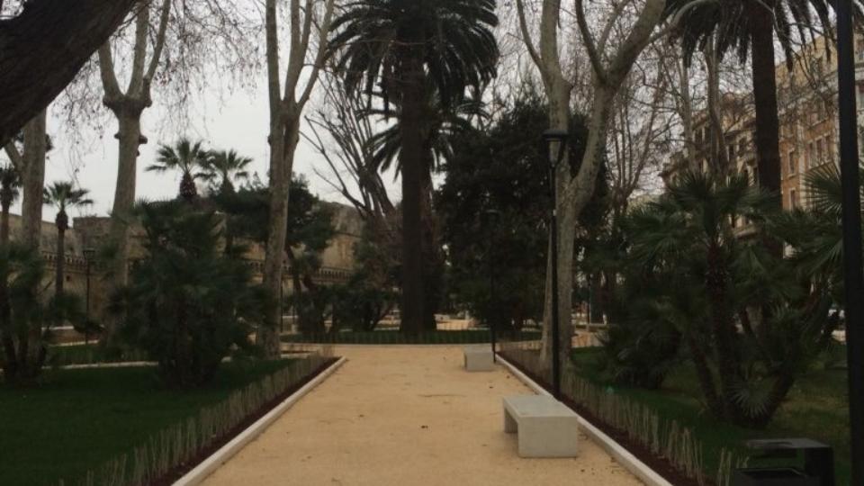 Giardini Isabella d'Aragona (particolare)