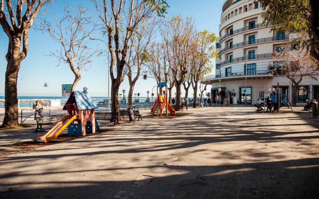Piazza Diaz di Bari: playground